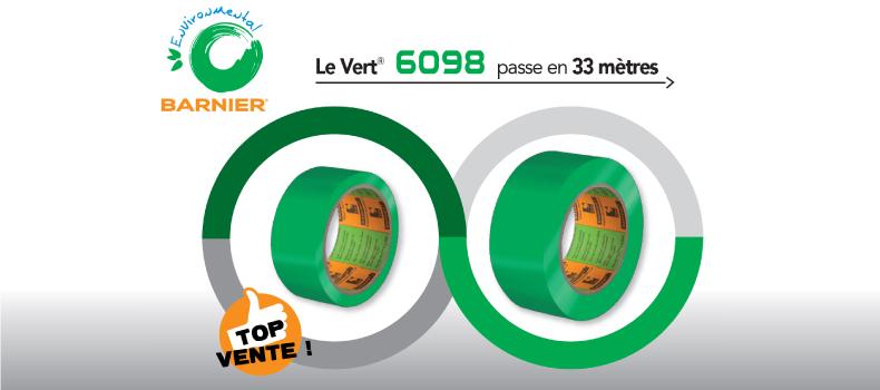 Le Vert® 6098 passe en 33m