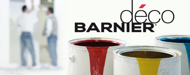 Barnier Deco - Adhesive tapes for painting professionals